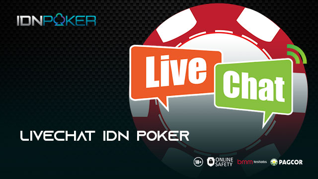 LIVECHAT IDN POKER